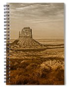 The Mittens At Monument Valley Spiral Notebook