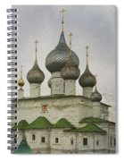 The Monastery Of The Resurrection. Uglich Russia Spiral Notebook