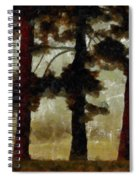 The Morning Stroll Spiral Notebook