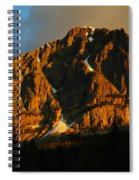 The Mountain Says Good Morning Spiral Notebook