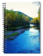 The Moyie River Near Yak B C Spiral Notebook