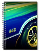 The Muscle Car Oldsmobile 442 Spiral Notebook