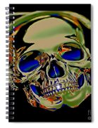 The Music Goes On Forvever Spiral Notebook