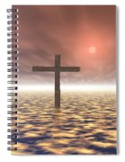 The Mystery Of The Cross Spiral Notebook