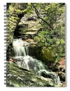 The Mystery Waterfall Spiral Notebook