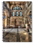The Nave At St Davids Cathedral 5 Spiral Notebook