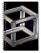 The Necker Cube Spiral Notebook