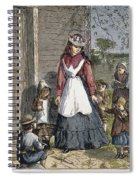 The New School Mistress Spiral Notebook