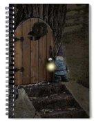 The Nightstalking Elf Spiral Notebook