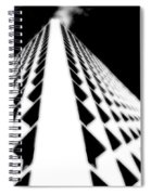 The Office Building Bw Spiral Notebook