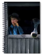 The Old Bell Cow Spiral Notebook
