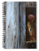 The Old Blue Door Spiral Notebook