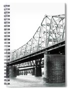 The Old Bridges At Memphis Spiral Notebook