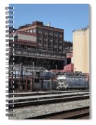 The Old California And Hawaii Sugar Company In Crockett California . C And H . 5d16770 Spiral Notebook