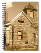 The Old Church At Shellpile  Spiral Notebook