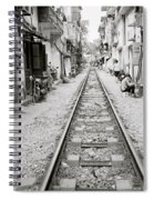 The Old City Of Hanoi Spiral Notebook