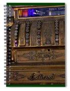 The Old Copper Cash Machine Spiral Notebook