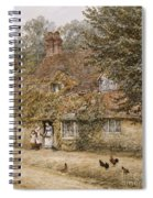 The Old Fish Shop Haslemere Spiral Notebook