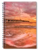 The Old Fishing Pier Spiral Notebook