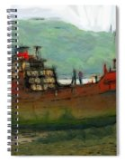 The Old Fishing Trawler Spiral Notebook
