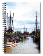 The Old Harbor Spiral Notebook