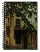 The Old House Where Nobody Lives Spiral Notebook