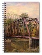 The Old Iron Bridge Spiral Notebook