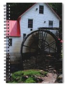 The Old Mill 1886 In Cherokee North Carolina Spiral Notebook