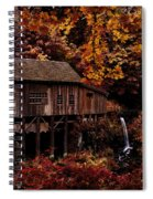 The Old Mill Stream Spiral Notebook