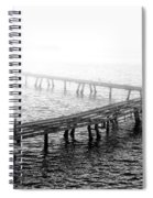 The Old Pier Spiral Notebook