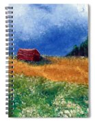 The Old Red Barn Spiral Notebook