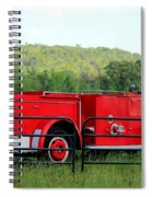 The Old Red Fire Engine Spiral Notebook