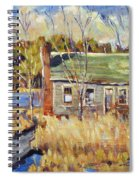The Old Relic - Plein Air Spiral Notebook