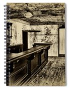 The Old Saloon Spiral Notebook