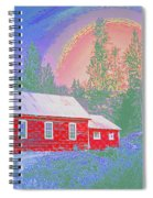 The Old Schoolhouse Library Spiral Notebook