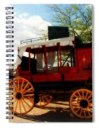 The Old Stage Coach Spiral Notebook
