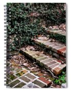 The Old Steps Spiral Notebook