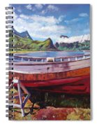 The Old Timer Spiral Notebook