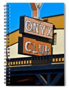 The Onyx Club Spiral Notebook
