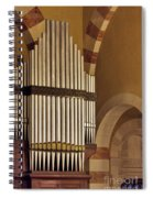 the Organ Augusta Victoria Jerusalem Spiral Notebook