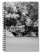 The Overhang In Black And White Spiral Notebook