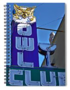 The Owl Club Spiral Notebook