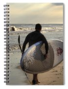 The Paddleboarder Spiral Notebook