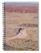 The Painted Desert  8042 Spiral Notebook