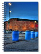 The Palace Of Auburn Hills Mi Spiral Notebook