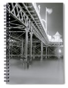 The Palace Pier Spiral Notebook
