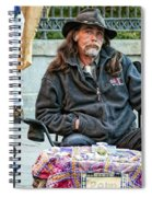 The Palm Reader Of New Orleans Spiral Notebook