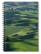 The Palouse 1 Spiral Notebook