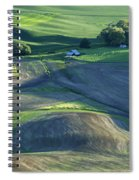 The Palouse 3 Spiral Notebook