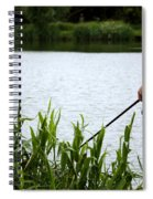 The Patient Fisherman Spiral Notebook